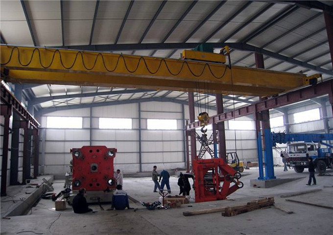 Tsana crane overhead double girder 25 tons inexpensive